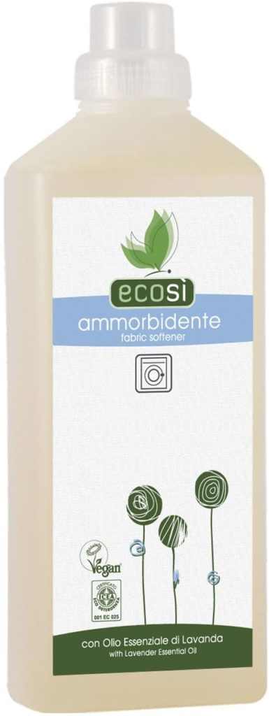 Ecosi Fabric Conditioner Certified Eco Organic and Vegan, Dermatologically Tested, 1ltr
